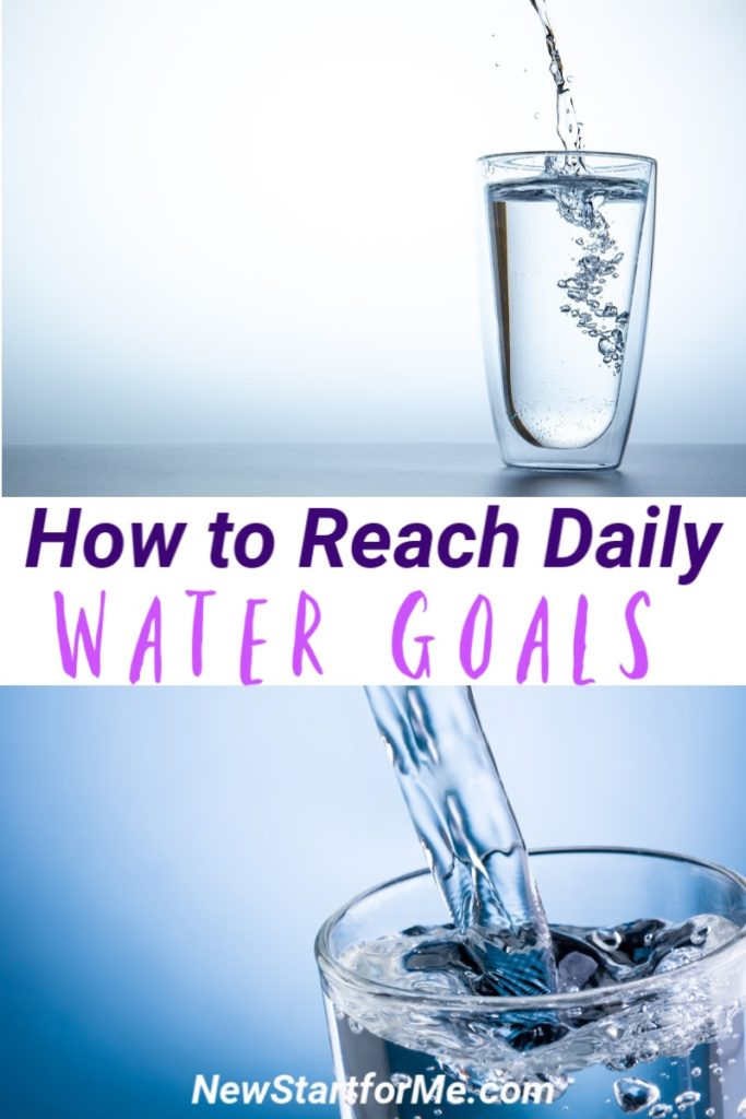 What's your daily water goal? Learn how to get it, and then stay hydrated and lose weight by drinking the right amount of water (for you!) EVERY day!