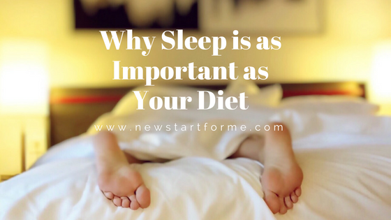 Why Sleep is as Important as Your Diet