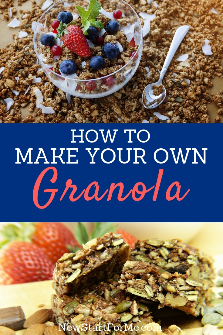 Skip the store-bought granola and whip some up at home using ingredients you likely have on hand already right inside your own home.