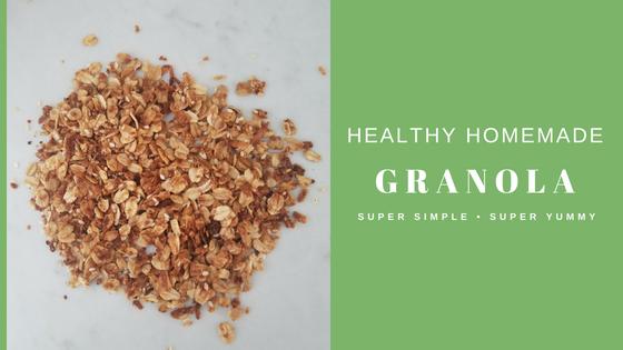 Recipe:  Homemade Crunchy Granola