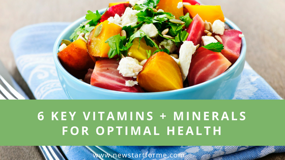 6 Vitamins and MInerals for Optimal Health. New on the NewStart Blog