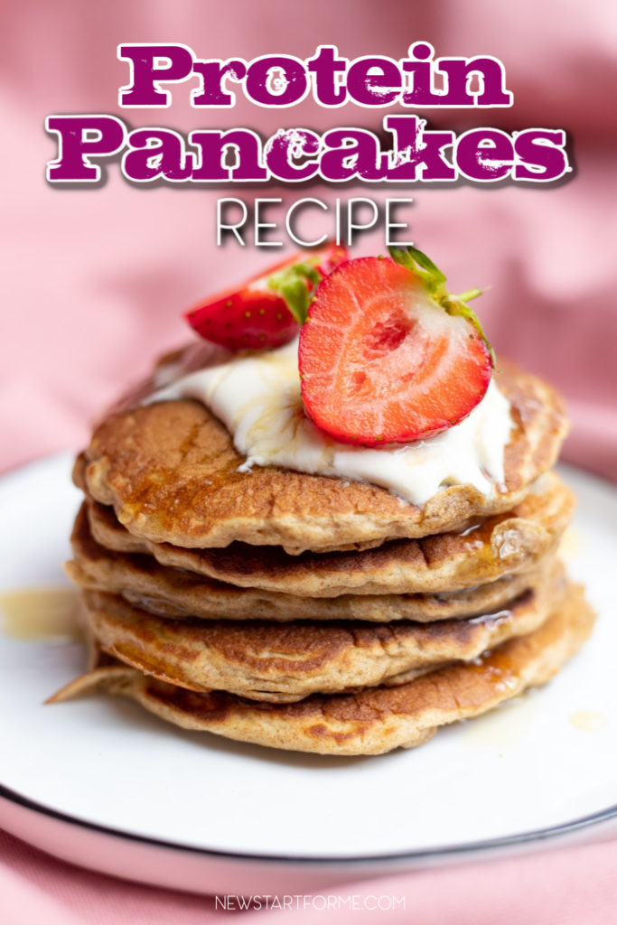Ramp up your breakfast with this tasty and healthy cookies 'n cream protein pancakes recipe. Packed with all the nutrition you need to fuel your day!