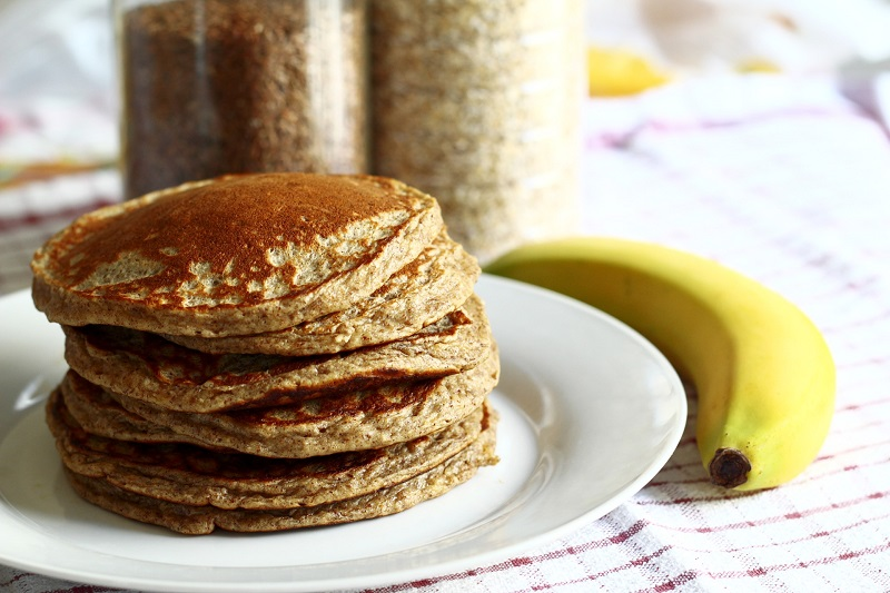 Ramp up your breakfast with this tasty and healthy cookies 'ncream protein pancakes recipe. Packed with all the nutrition you need to fuel your day!