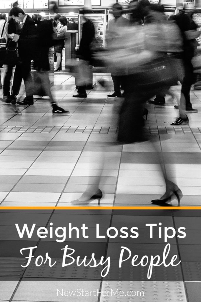 Who has time for Weight Loss when life these days is crazy-hectic? You do! Find out how you can stick to your weight loss plan with these seven easy tips!
