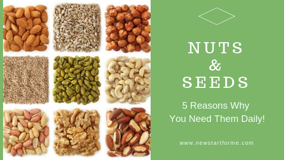 Nuts and Seeds:  5 Reasons Why You Need Them, Daily!