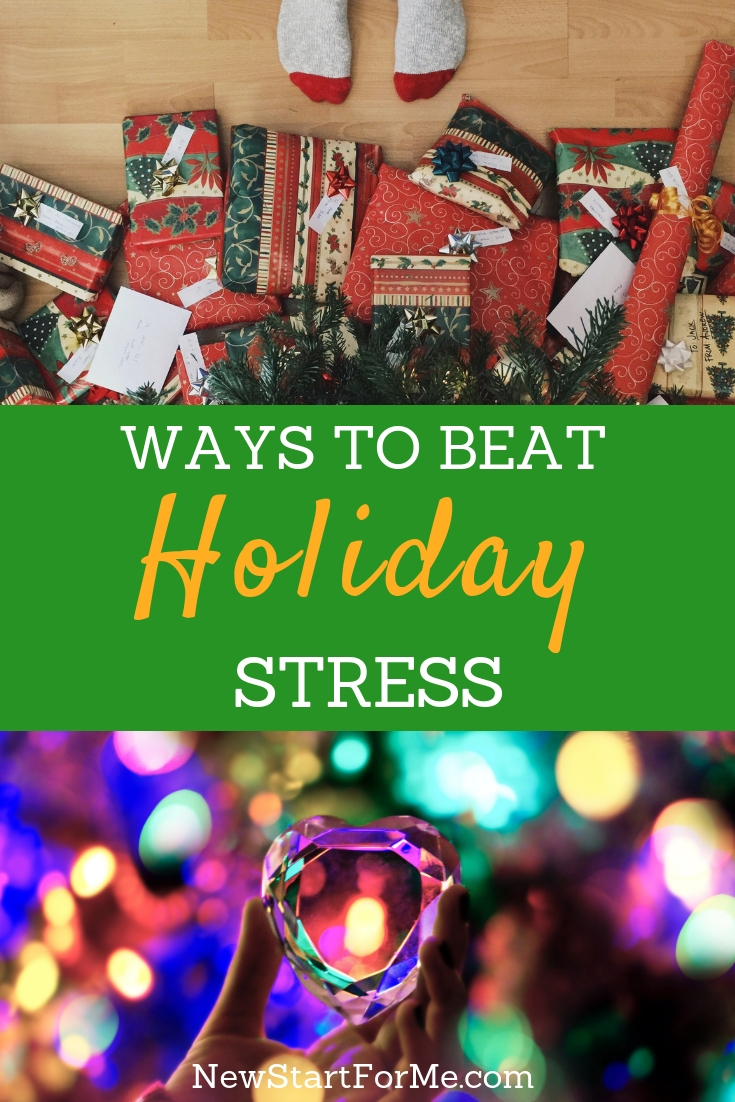 We can beat holiday stress and bring on a whole new feeling of holiday cheer that is genuine. If you choose to take on these three ideas, you will transform your holiday too!