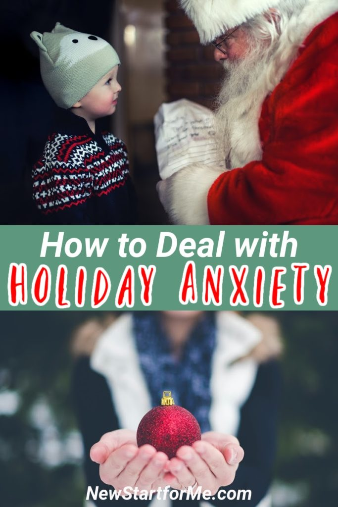 Dealing with holiday anxiety is a real thing that many of us suffer through but there are ways to lessen the stress and enjoy the season.