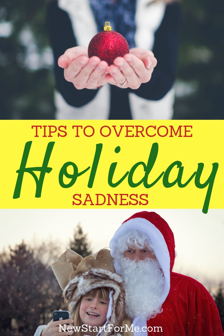 Try one, two or all three, I know that these are powerful ways to keep that unwanted holiday sadness away and keep your holidays happy.