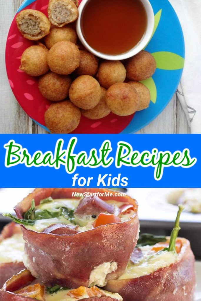 Using healthy breakfast recipes for kids, we can help make sure they stay on a healthy path from the very start.