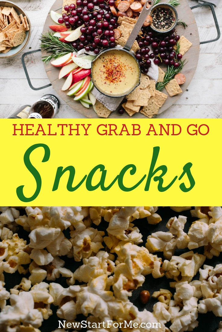 The best grab and go snacks will help keep you full between breakfast and lunch, lunch and dinner, and dinner and breakfast.
