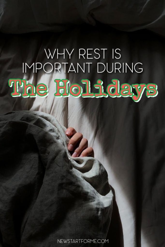Rest is important every single night, no matter what the season but the holiday season adds a level of importance to your sleep that you may not know about.