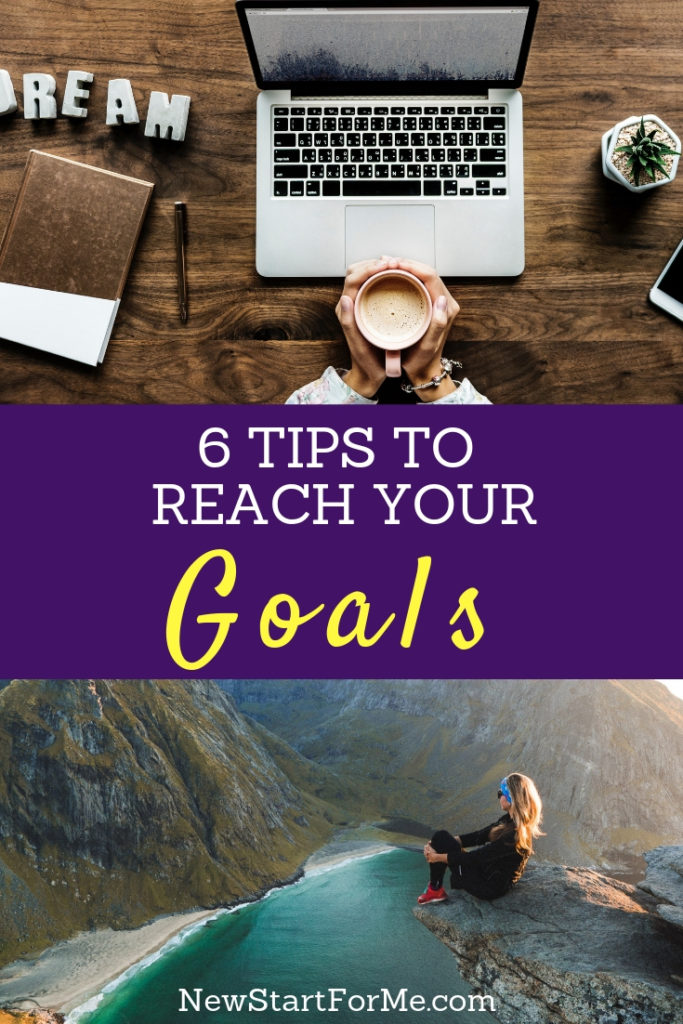 Reach your goals by taking hold of your mindset and using 6 easy tips to manage your mind, strive for more and reach your goals for your best life ever.