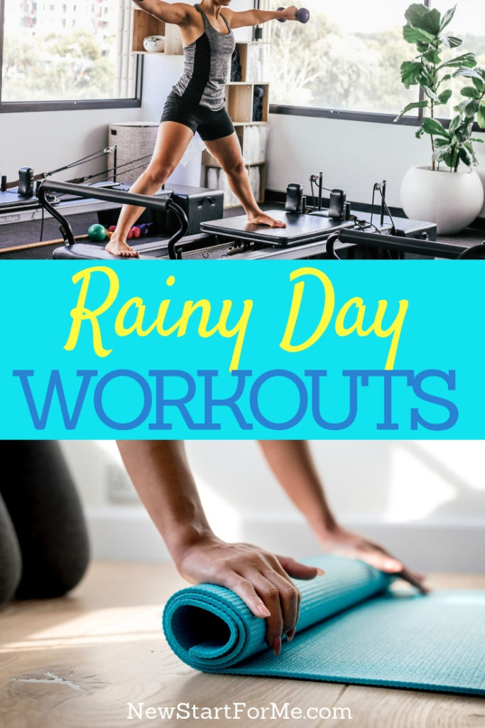 The best rainy day workouts allow you to work out at home when the weather isn't ideal for your exercises and your health.