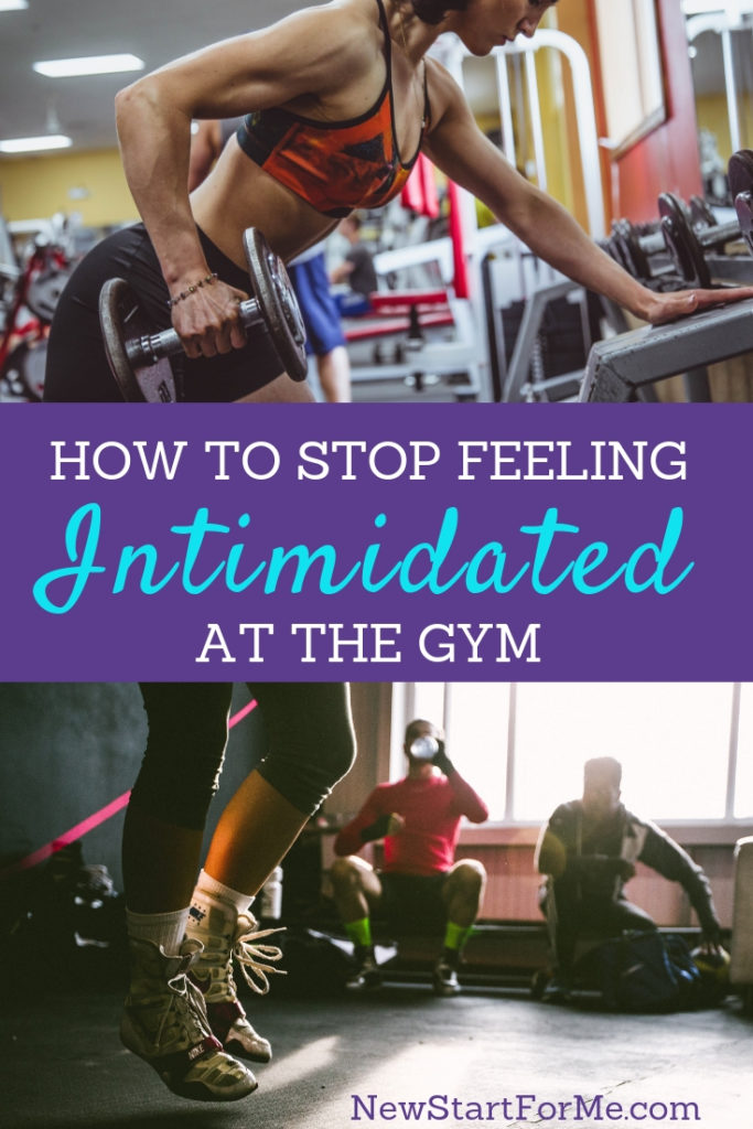 You've got goals, now you need courage! Sometimes the gym can be a scary place. Get beyond feeling intimidated at the gym in 5 easy steps.