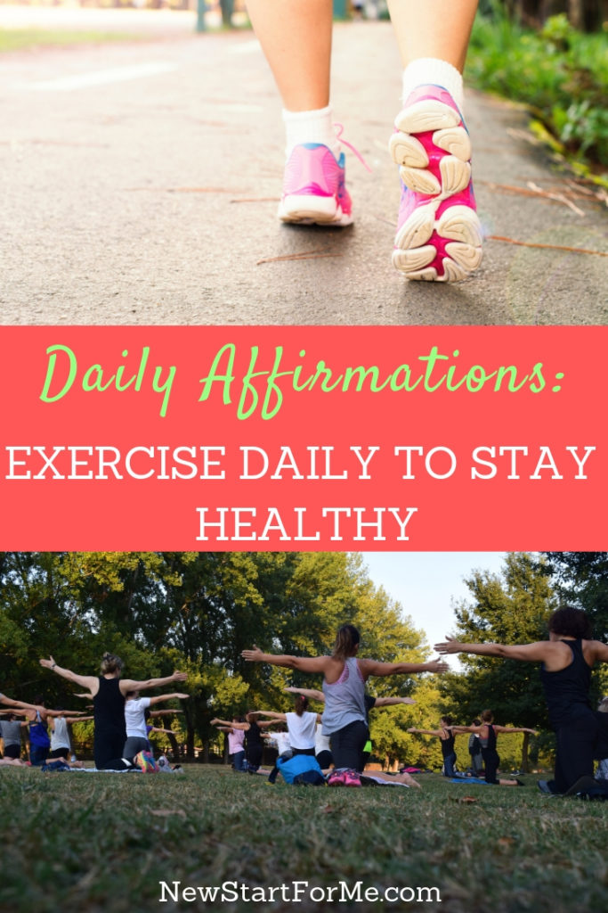 You are working hard to reach your goals and exercise daily to stay healthy and strong! NewStart Daily Affirmations are a gamechanger, on the blog or email.