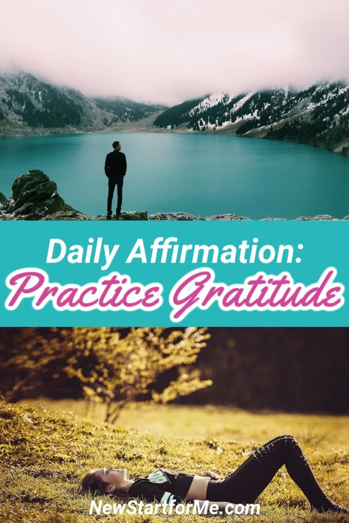 Now, each morning, as the sun is rising above the clouds, I stop and reflect on everything in my life to practice Gratitude.