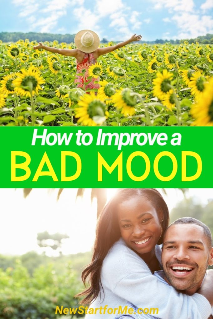 Suffering from a bad mood? No problem! Check out these 12 easy tips to lift your bad mood and make your day into something special in no time at all!
