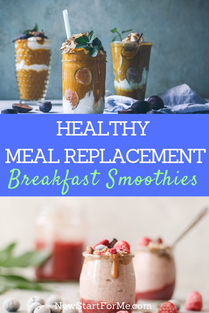 Enjoy the best healthy breakfast smoothies for meal replacement so that you can start your day off on the best foot possible.