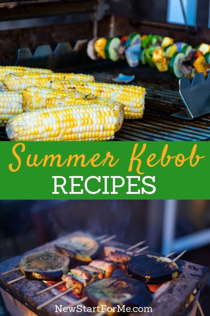Healthy kebob recipes for summer barbecue fun! Stay close to your goals, and score high on flavor and variety with these summer kebob recipes.
