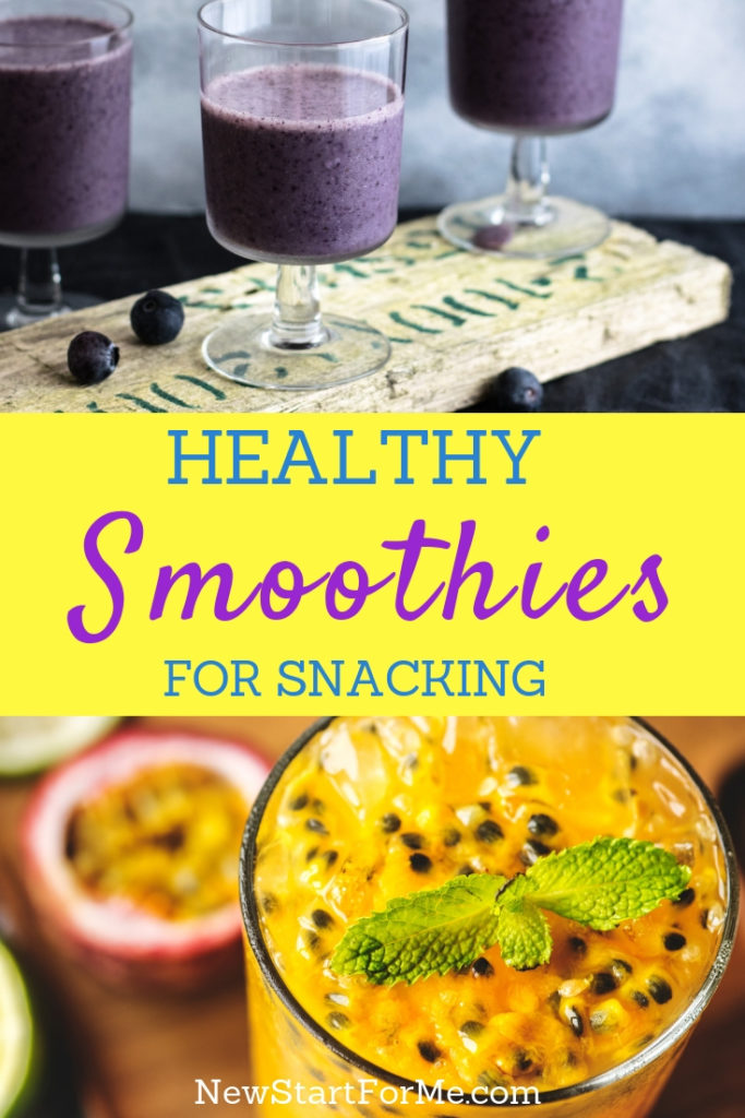 Take advantage of the things nature gives us by making healthy smoothie recipes for a light snack and to help you lose weight.