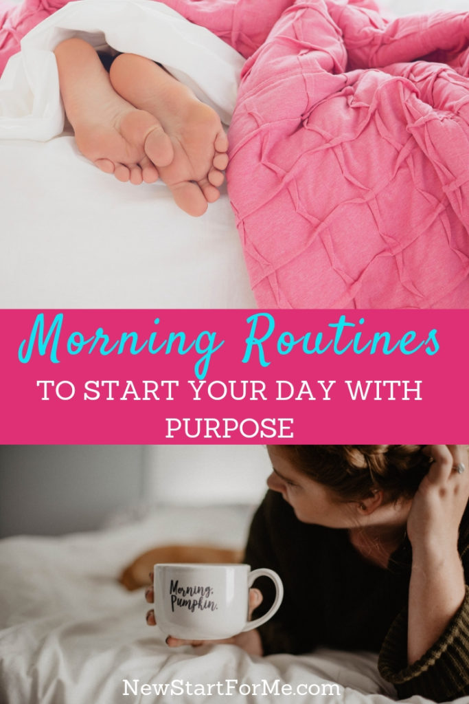 There are some simple things you can do to start your day with purpose calmly, mindfully, and before you reach for your cell phone.