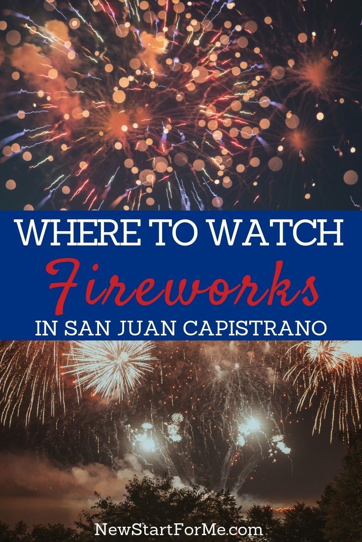 Learn where to watch fireworks in San Juan Capistrano for the Fourth of July so you can spend the day having fun and enjoying the community.