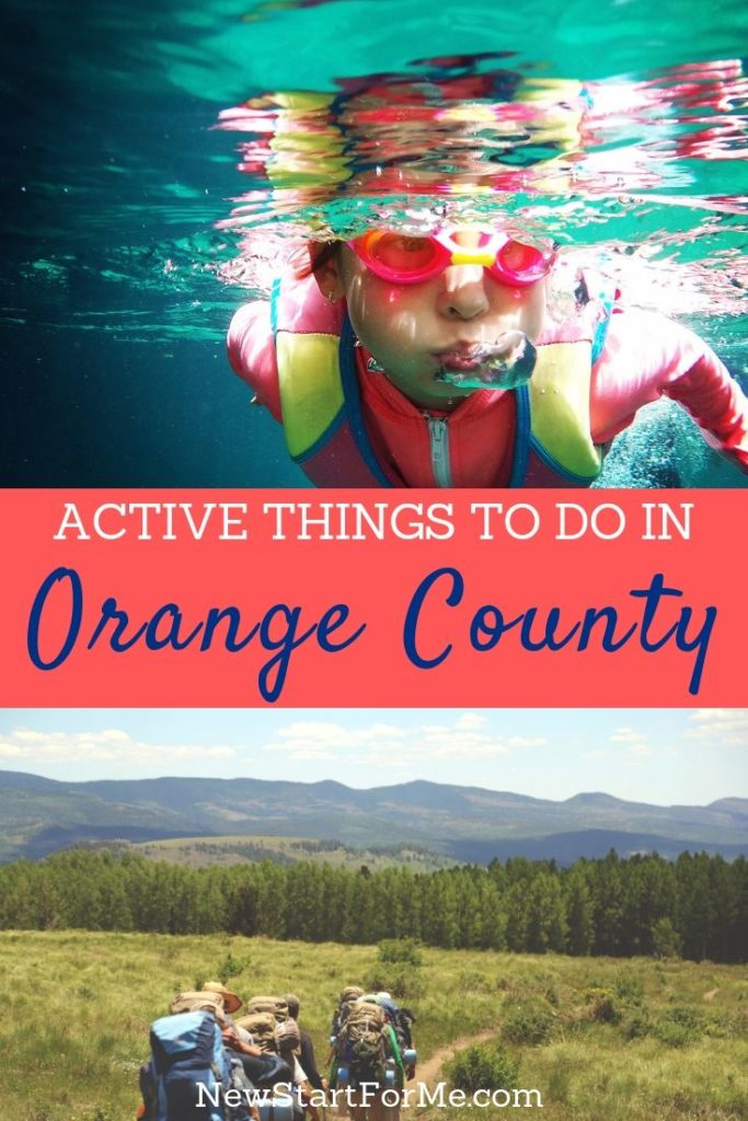 The best and most fun active things to do as a family in Orange County will help keep your family moving and staying healthy.