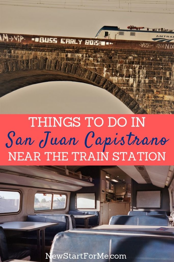 You can be just moments away from fun when you find things to do in San Juan Capistrano near the train station.