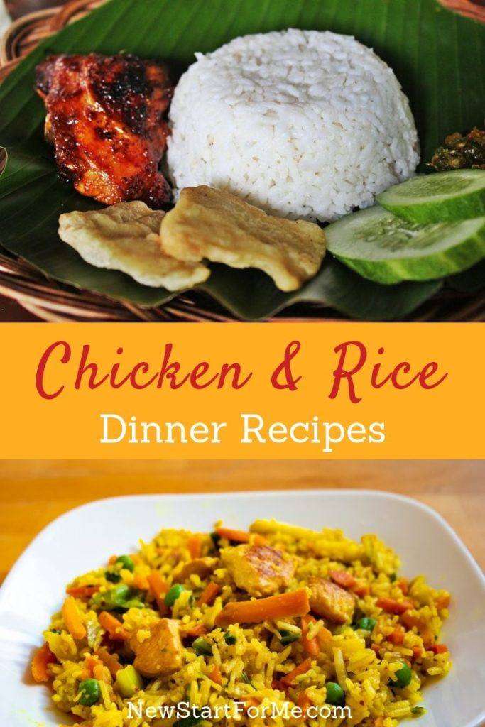 You can make some simple, yet amazing chicken and rice dinner recipes for the family and be sure that each plate is cleaned before it even reaches the sink.