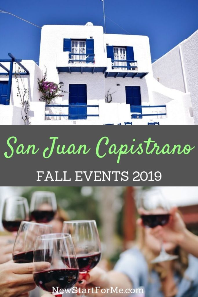 There are so many fun San Juan Capistrano fall events 2019 for you to enjoy with your family and friends and the entire community.