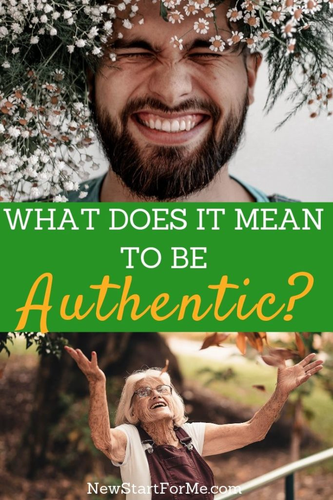 The question here is what does it mean to be authentic? But the answer isn't as easy as reading the definition from a dictionary.