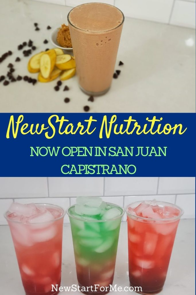 Visit NewStart Nutrition now open in San Juan Capistrano to get the help you need in all aspects of weight loss and healthy living.