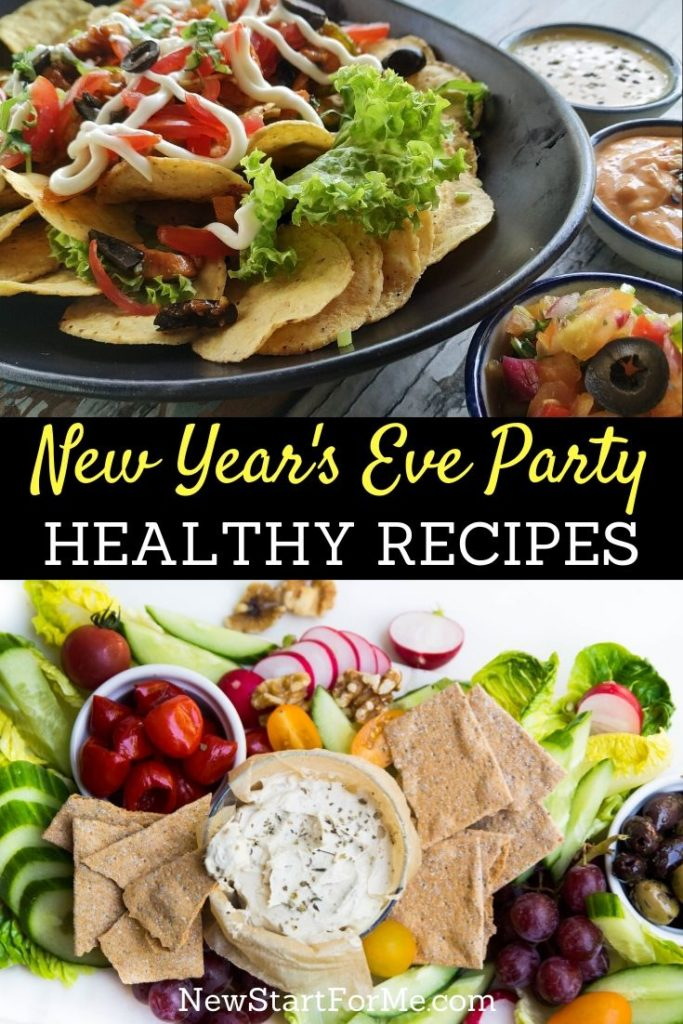 The best way to celebrate the holidays is to use healthy New Year's Eve party recipes so that you can stay on track with your goals.
