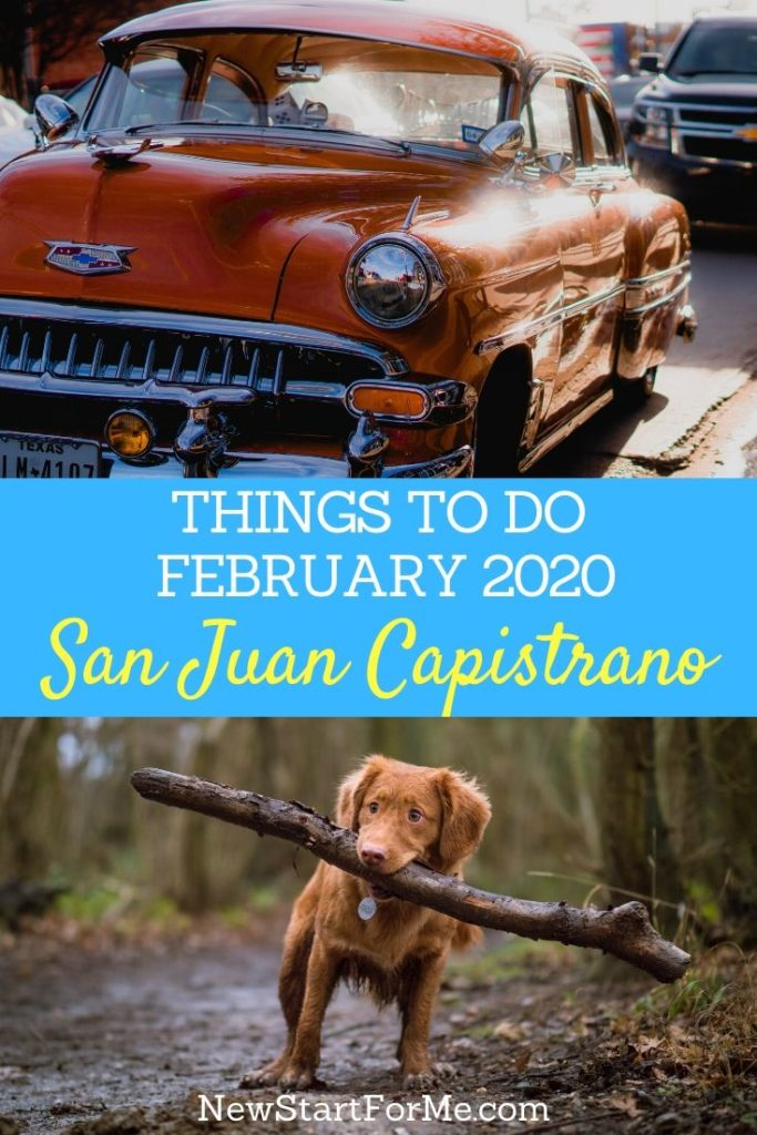 There are a variety of February 2020 things to do in San Juan Capistrano that you can enjoy with your family, friends, and communities.