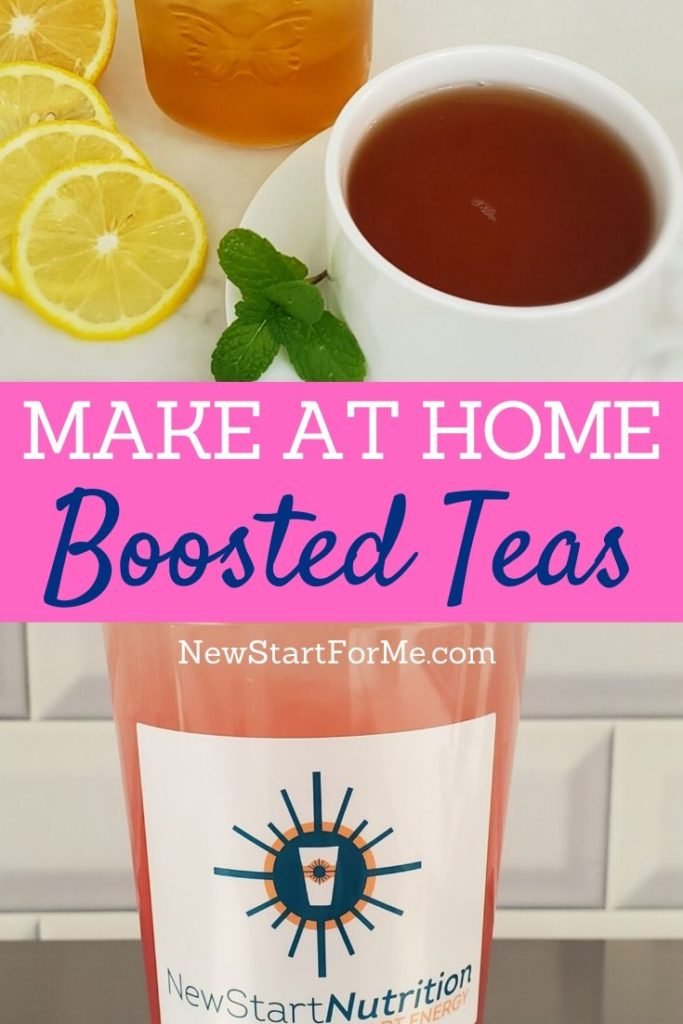 You can learn how to make boosted teas at home and then start getting energy in the healthiest way possible right at home.