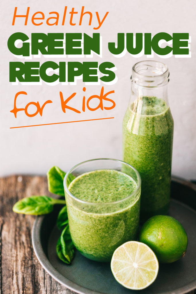 Introduce your kids to a healthier snack or juice with green juice recipes for kids that will give them real vitamins and minerals. Green Juice Recipes | Kid Approved Recipes | Healthy Recipes for Kids | Kid Friendly Juicing Recipes #parenting #healthy