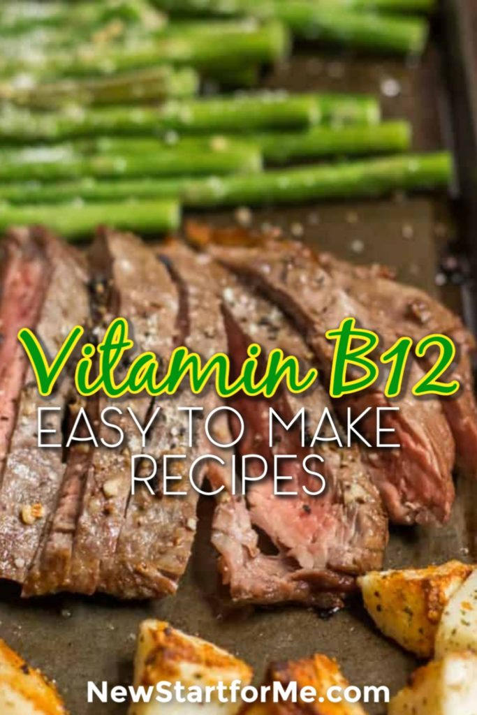 Recipes with Vitamin B12 do a lot for your body like improving memory, aiding red blood cell formation, and giving you more energy.  Healthy Recipes | Recipes for Energy | Vitamin B12 Foods | Recipes for Improving Memory | Healthy Recipes | Easy Dinner Recipes  #healthyrecipes #DinnerRecipes