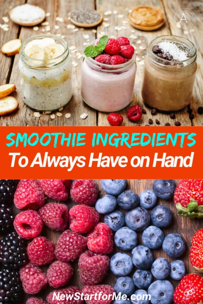 The best smoothie ingredients should be kept on hand as often as possible to ensure you are ready for a healthy snack when in need. Smoothie Ingredients for Weight Loss | Shopping List for Weight Loss | Smoothie Shopping List | Healthy Ingredients to Buy | Ways to Lose Weight | Healthy Foods for Weight Loss #smoothies #healthy
