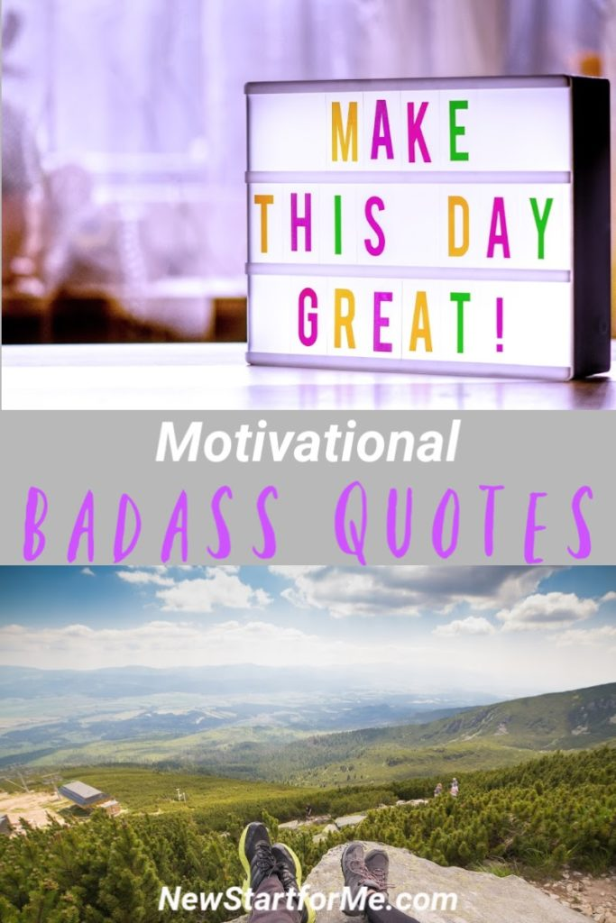 Motivational badass quotes are not only motivating, they're inspiring, powerful, and ready to help you get your butt in gear. Tips for Motivation   Tips for Staying Motivated   Funny Quotes   Quotes About Life   Deep Motivational Quotes   Motivational Quotes for Adults #quotes #motivation