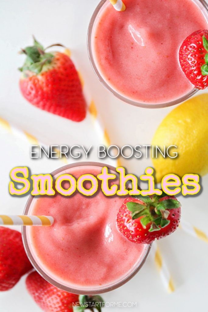 There are many different smoothie recipes to increase energy that you can use whenever you want and reap all of the nutritional benefits as well.