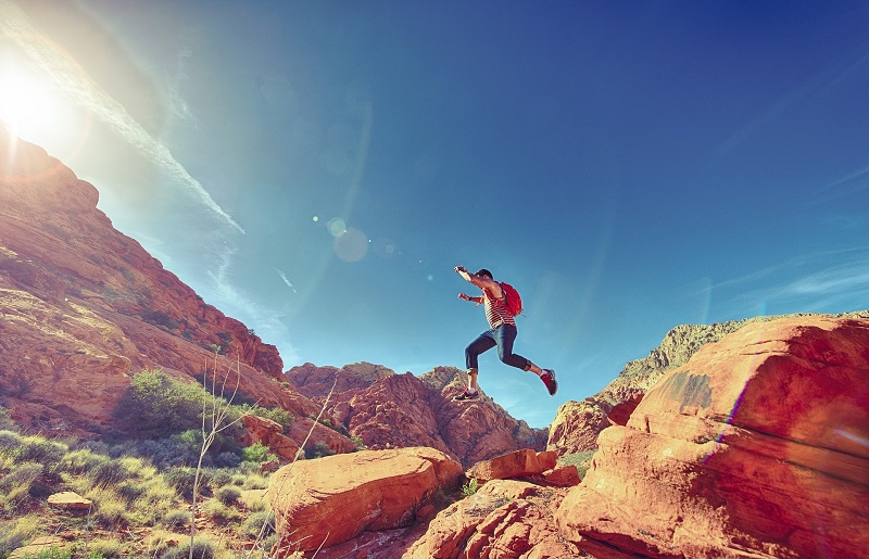 How to Get More Energy Man Hiking
