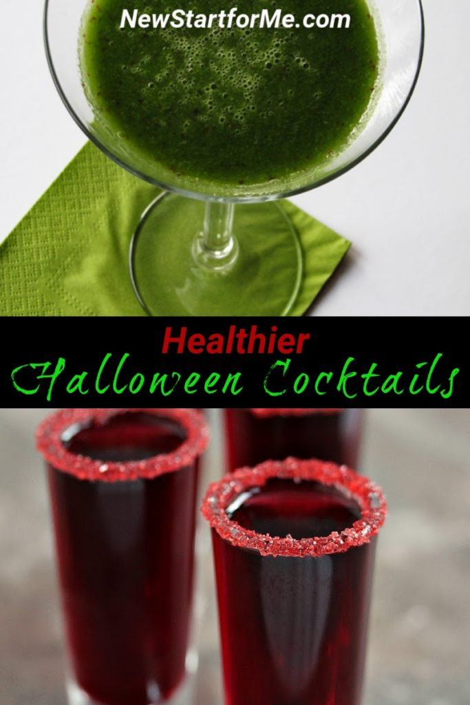 Healthier Halloween cocktails make for a healthier Halloween party that is still frightfully fun and horrifically exciting.