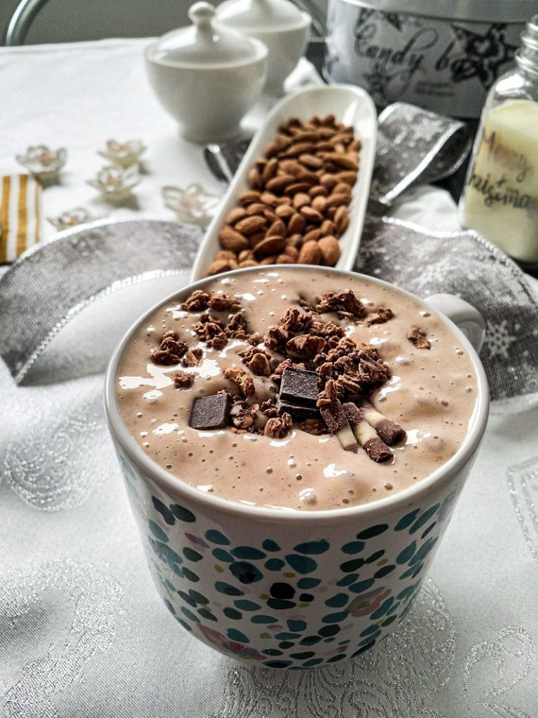Chocolate Herbalife Shake Recipes a Cup Filled with Chocolate Shake and Topped with Chocolate Shards