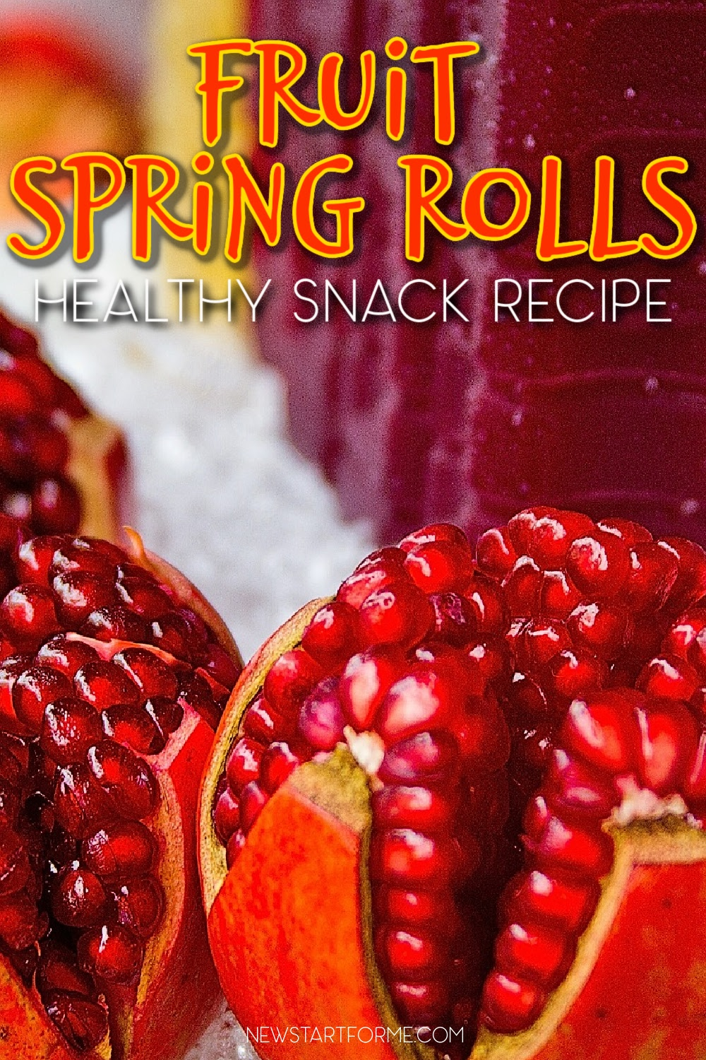 Fruit Spring Rolls are a beautiful and easy way to hit your daily fruit goal! Check out this quick video and grab the recipe here.