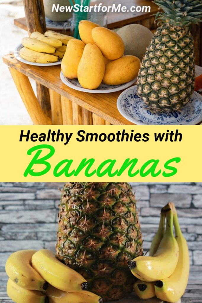 Healthy banana smoothie recipes are not only easy smoothie recipes but healthy snacks that could help with weight loss and health goals.