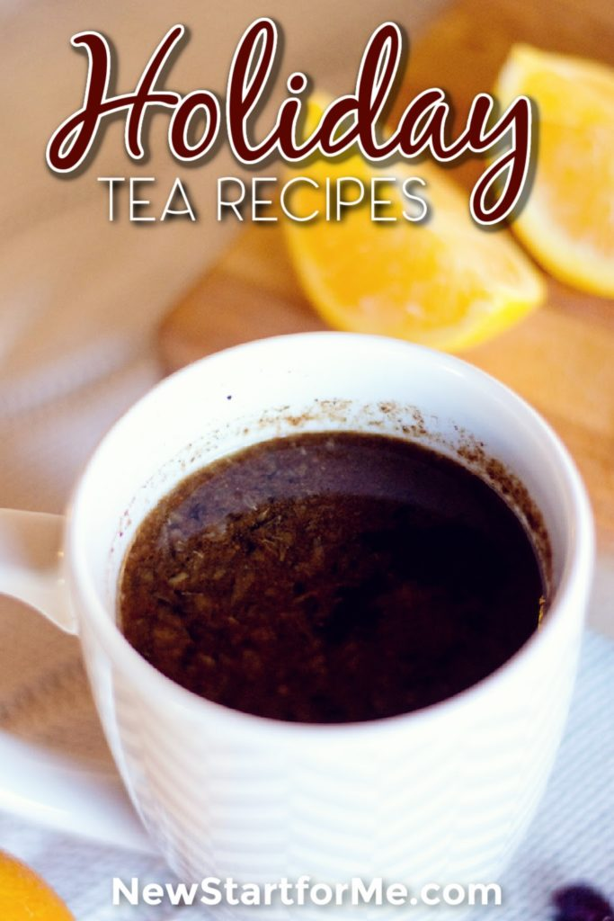 Holiday tea recipes are perfect for allowing you to get even more in tune with the season in a fun and healthy way.