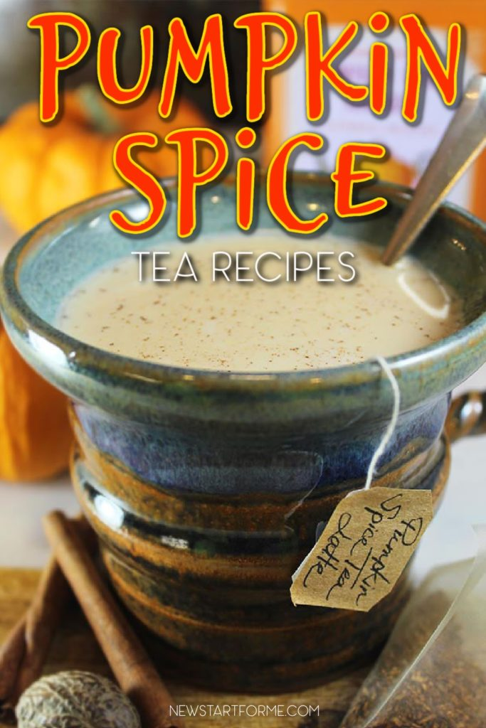 Pumpkin spice tea recipes are the perfectly healthy way to enjoy the flavors of fall and winter in a familiar way.