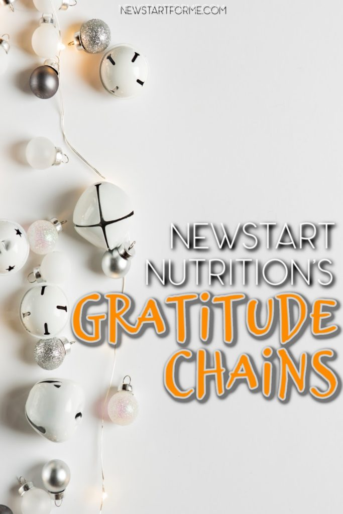 Gratitude chains are perfect for setting goals, staying motivated and focusing on a happier, healthier lifestyle from now on.
