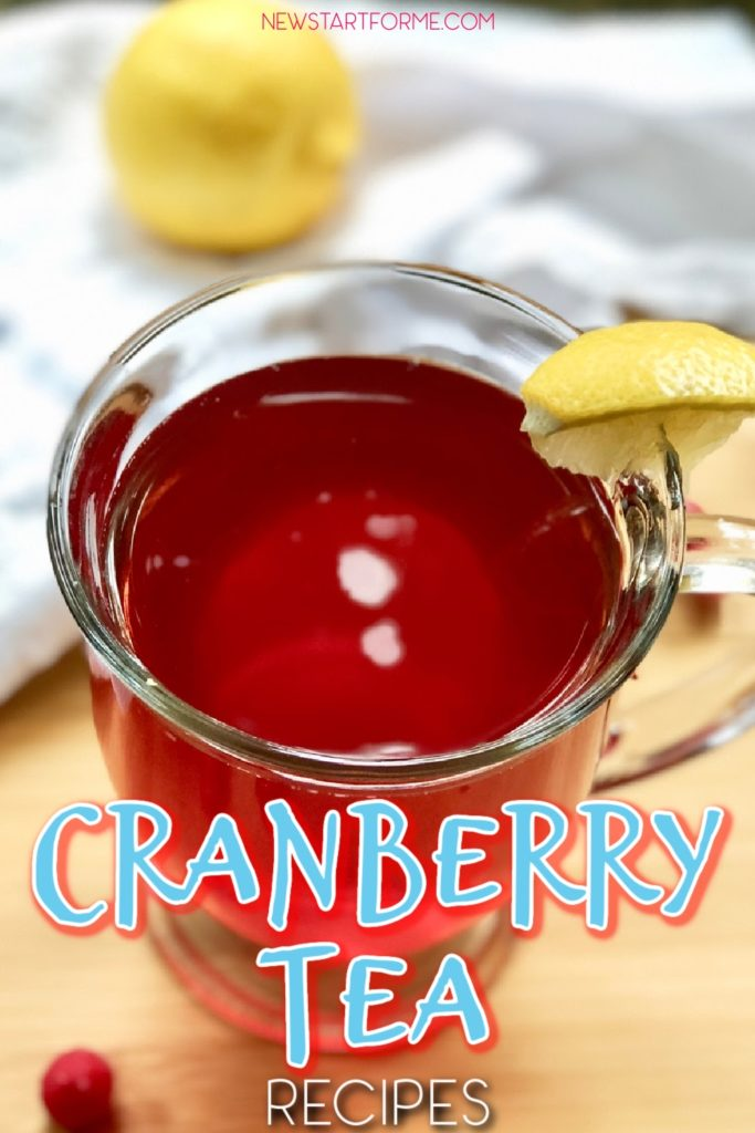 The best cranberry tea recipes can be made at home for you to get those health benefits of cranberries right at home.