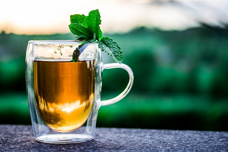 Herbalife Tea Flavors a Cup of Peppermint Tea